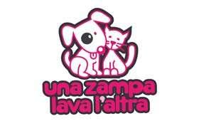 Progettazione logo – Una Zampa Lava L'altra