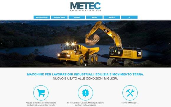 Metec – sito web