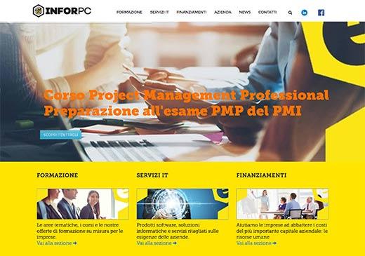 Realizzazione sito web InforPC