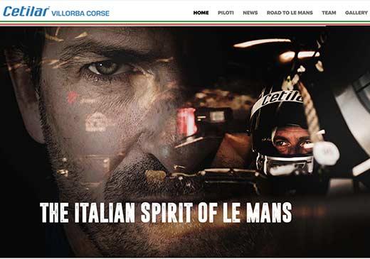 Realizzazione sito web Cetilar Villorba Corse