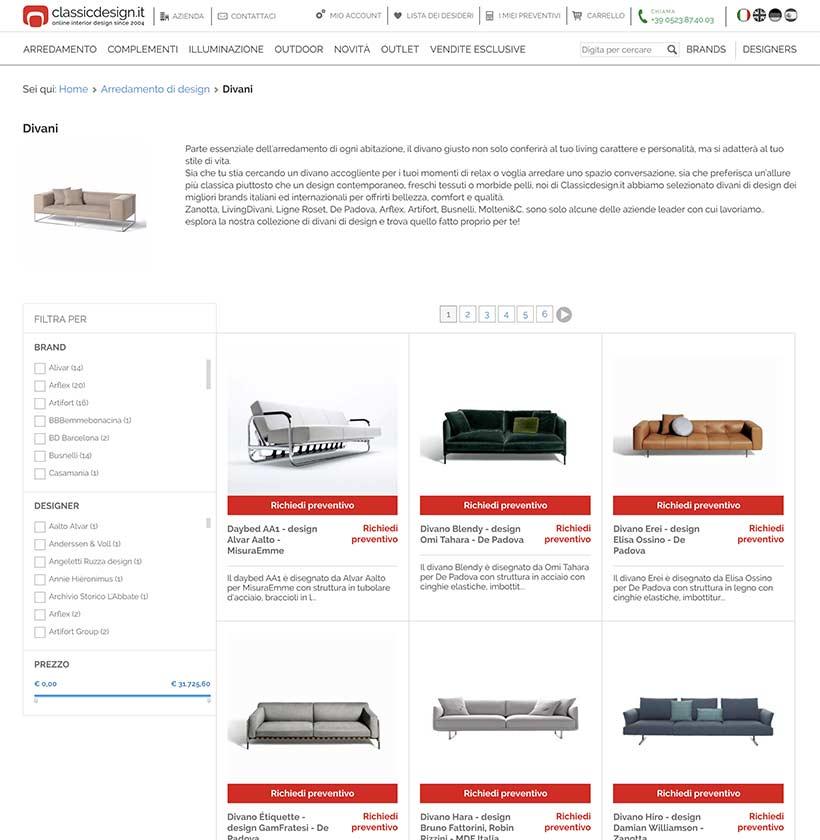 realizzazione sito web classic design categoria-1