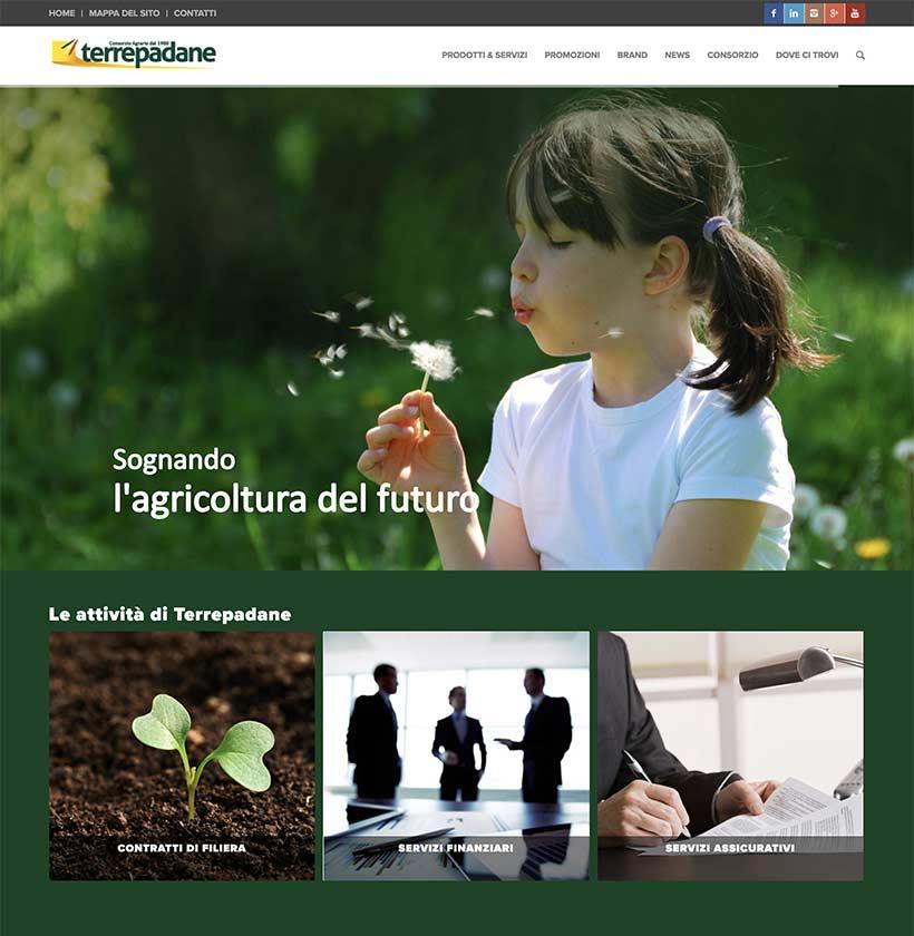 terrepadane home page