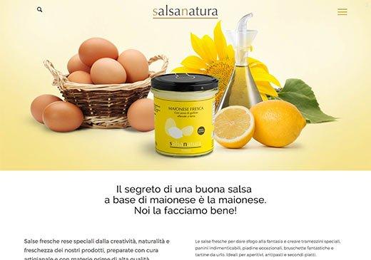 Realizzazione sito web Salsanatura