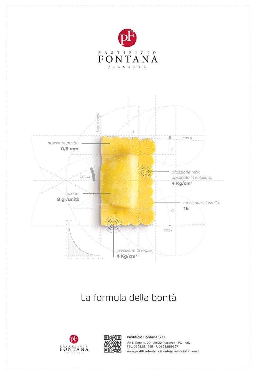 Pastificio Fontana annuncio raviolo