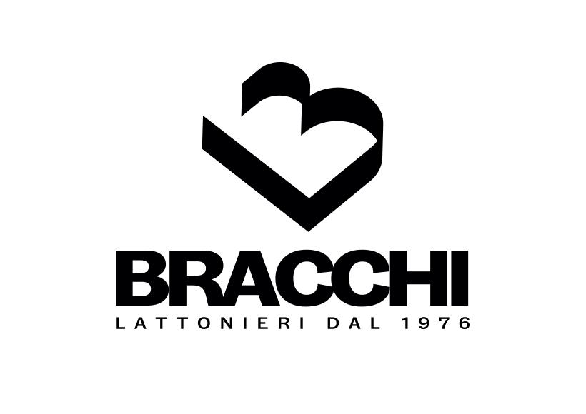 progettazione logo bracchi intero verticale