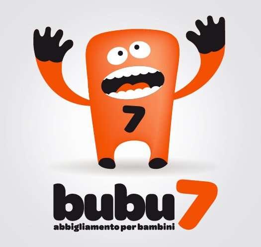 BUBU7 progettazione logo