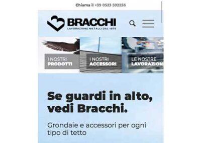 Realizzazione sito web Lattoneria Bracchi