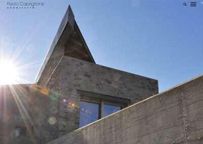 Realizzazione sito web Paolo Capriglione Architetto