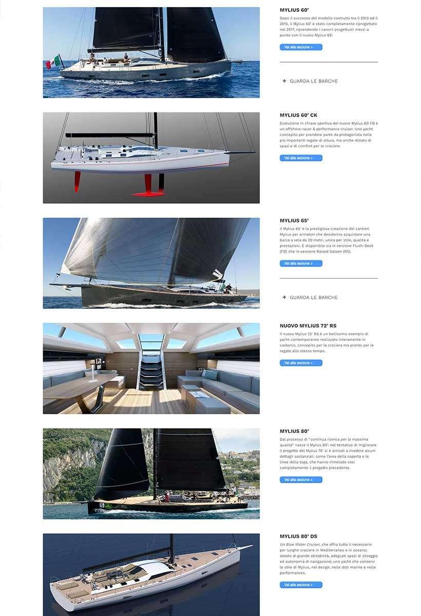 sito web mylius home page 2