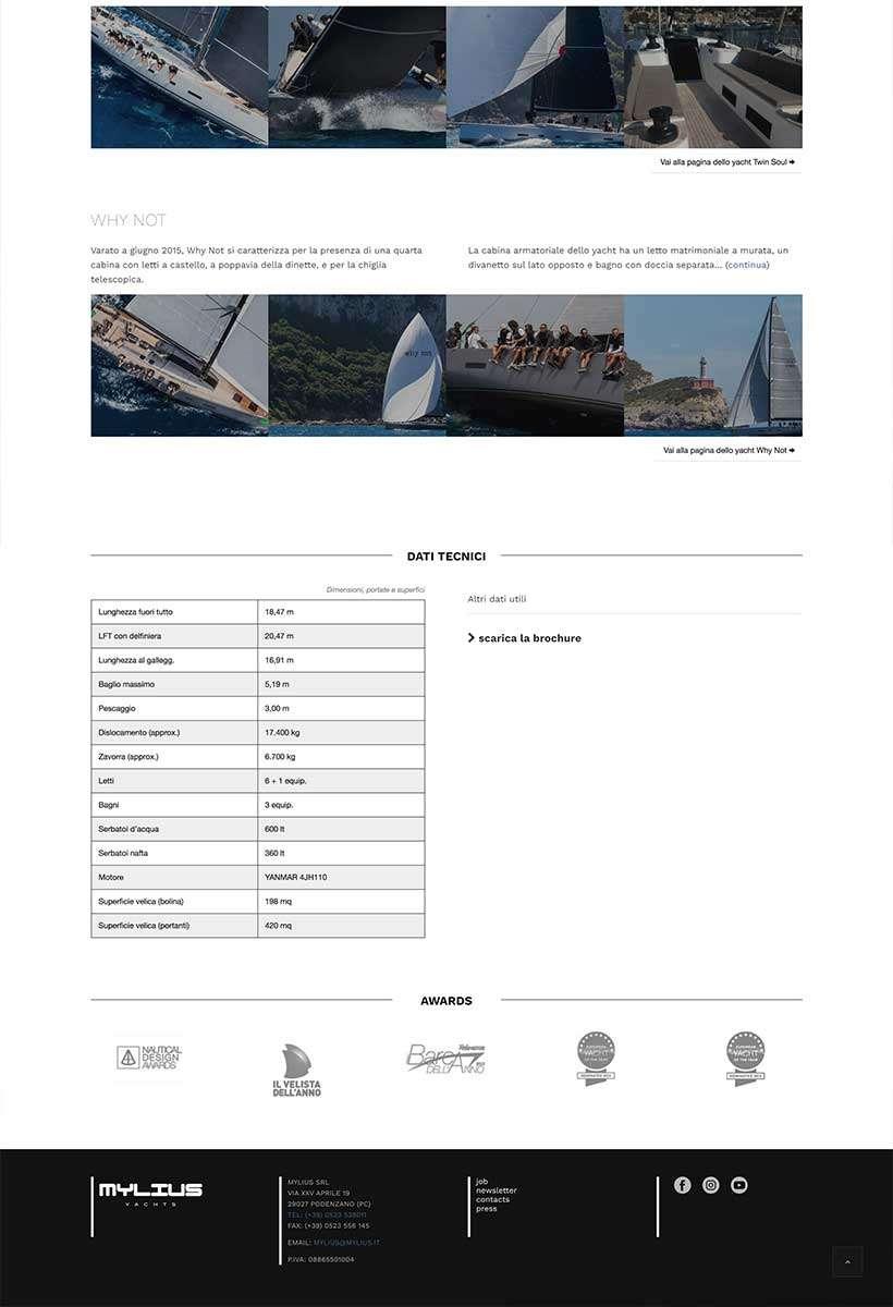 sito web mylius scheda yacht 4