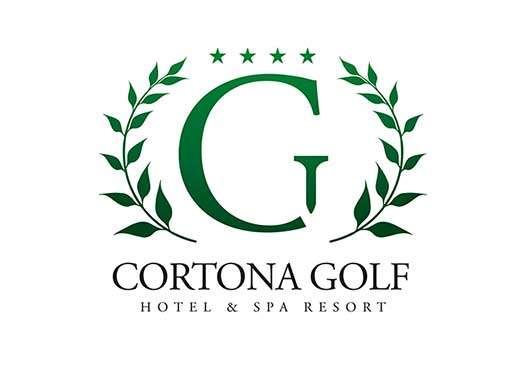 Progettazione logo Cortona Golf Resort