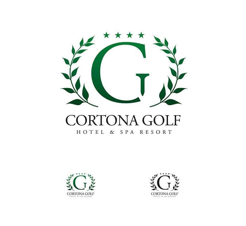 Progettazione logo Cortona Golf