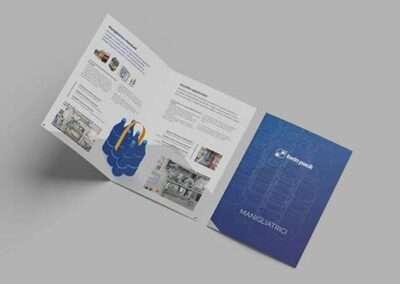 Progettazione brochure Twinpack
