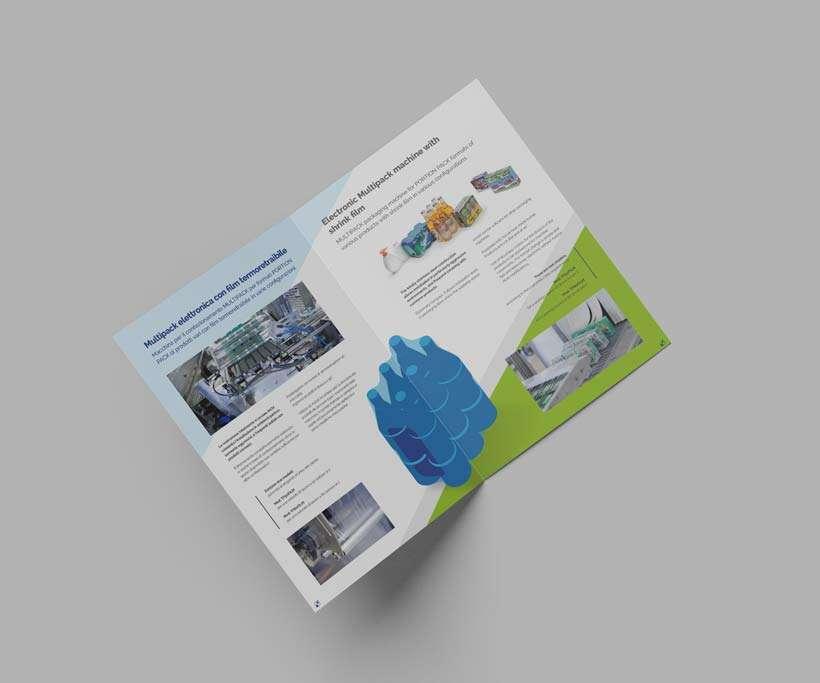 progettazione brochure twinpack multipack interno