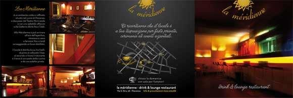 realizzazione brochure La Meridienne bianca