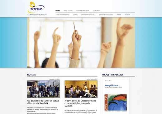 Sito web Tutor Formazione