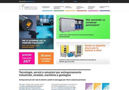 Redesign sito web LeoDaVinci